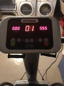 Workout machine, T zone, cardio interval vibration technology