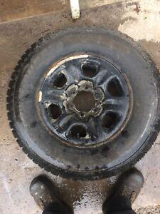 Toyota Tacoma wheel and tire