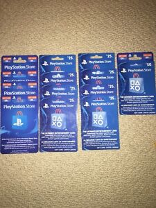 Play station cards (cheap)