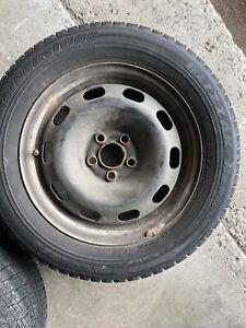 Corolla matrix blizzak winter tires and rims