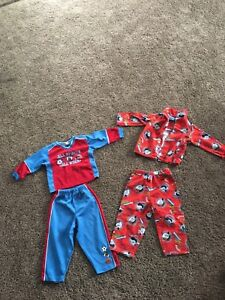 Tomas pj's and sports track suit
