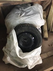 Ironman studded winter tires and rims