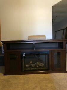 Napoleon Media Console Electric  Fireplace