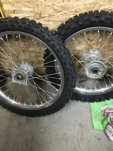 Rmz 250 wheels tires and hubs