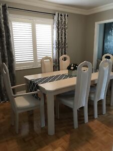 Table and chair set. Dining set