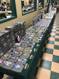 VIDEO GAMES @Halifax Forum Flea Market Today Sun 9-2