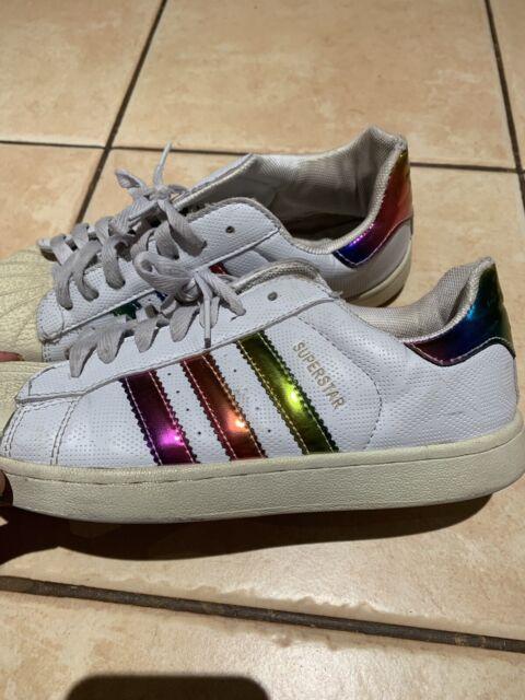 Rainbow Adidas Superstars | Women's Shoes | Gumtree