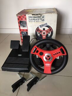 Concert 4 racing wheel and pedals for Nintendo 64 N64
