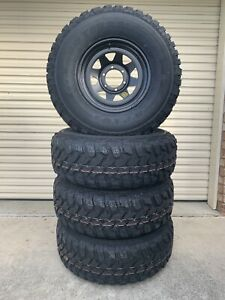 Brand new 285/75R16 mud on brand new ROH wheels Caboolture Caboolture Area Preview