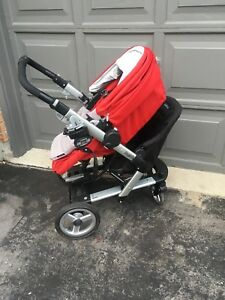 Peg Perego Skate Stroller with jump seat & EXTRAS