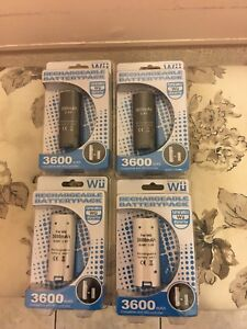 *New* Nintendo Wii/Wii U Rechargeable Battery Pack