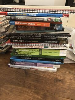 HSC Textbooks with Notes/Answers/Papers (Bus, Eng, Math, Econ, Phys,)