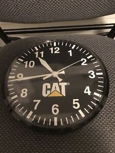 CAT clock. Great for man cave