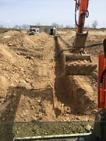 Excavating, landscaping and Skidsteer services