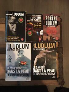 Collection livres Jason Bourne
