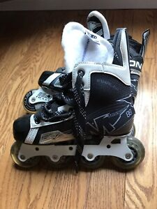 Youth size 3 inline roller blades