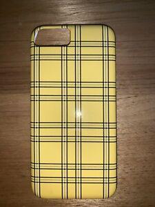 yellow checkered iphone 7 case - society6 Bradbury Campbelltown Area Preview