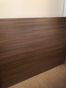 Head Board for Double Bed - with Storage