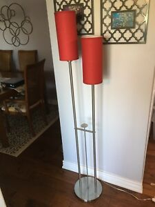 Tall Accent Floor Lamp - Good Condition