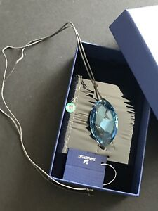 Authentic Swarovski necklace crystal with box