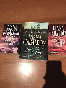 Diana Gabaldon books Greenwith Tea Tree Gully Area Preview