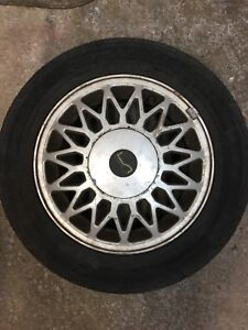 4 Tires on Mag Rims / set of 4