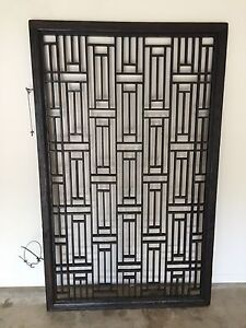 Large Japanese timber screen Carindale Brisbane South East Preview