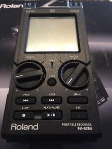 Roland R26 field recorder
