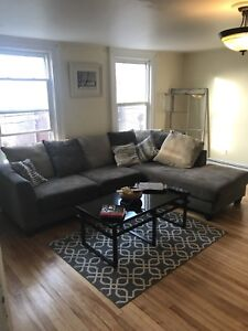 Couch and living room tables