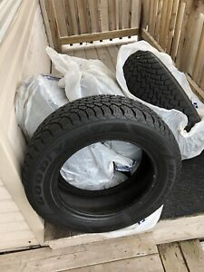 4 Good Year Nordic WINTER tires 215/60R16.