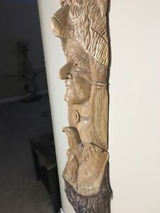 Native Wood Carving