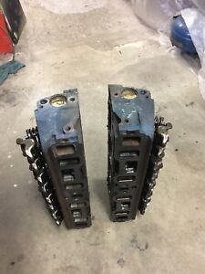 REBUILT AND MILD PORTED 87-93 MUSTANG 5.0 H.O E7TE HEADS