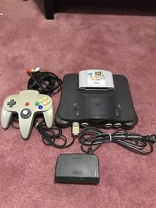 N64 with 1 game and 1 controller