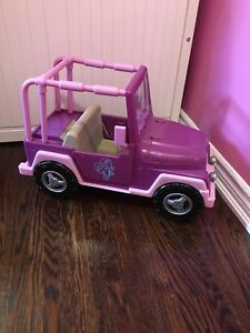American girl size Jeep for 18 inch dolls