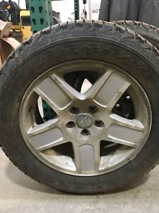 Winter tires and rims with wheel sensors