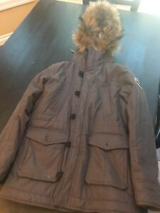 A&F Boys Winter Jacket Used Size 13/14