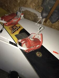 Staple Snowboard with Firefly snowboard Boots!!