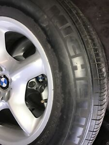 BMW 17 INCH rims and tires