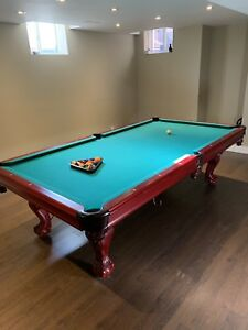 Like new regulation pool table