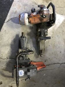"""(2) gas powered impact wrenches - 1"""" chuck"""