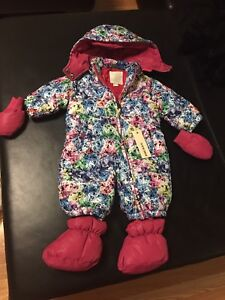 Brand new with tags Diesel baby girl snowsuit 6-9 months