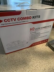 HD CCTV HDVR 4 Camera security system 2 TB HD