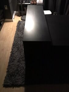 IKEA accent table (Black/Brown)