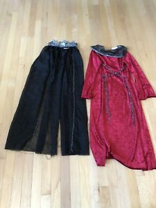 Child Medieval Queen Costume Size 7-8