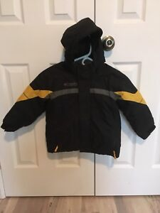 Boys Columbia winter coat and snow pants size 4/5