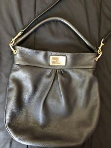 AUTHENTIC MARC JACOBS CLASSIC LEATHER HOBO BAG