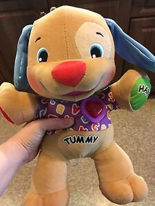 Children's fisher price interacting toy pup