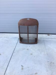 Antique Tractor Grill / Rad Cover - Great Accent Piece!