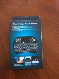 Rechargeable Rii i8 Mini wireless Keyboard with mouse