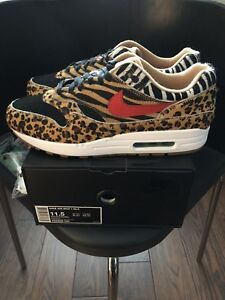 DS Air Max 1 Atmos Animal Pack size 11.5